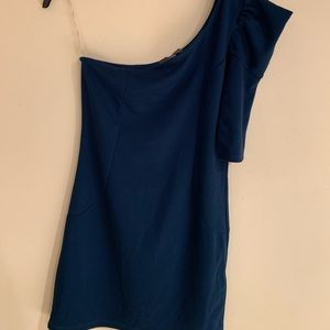 Forever 21 Bodycon Blue Dress